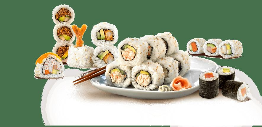La dieta de las japonesas. Sushi