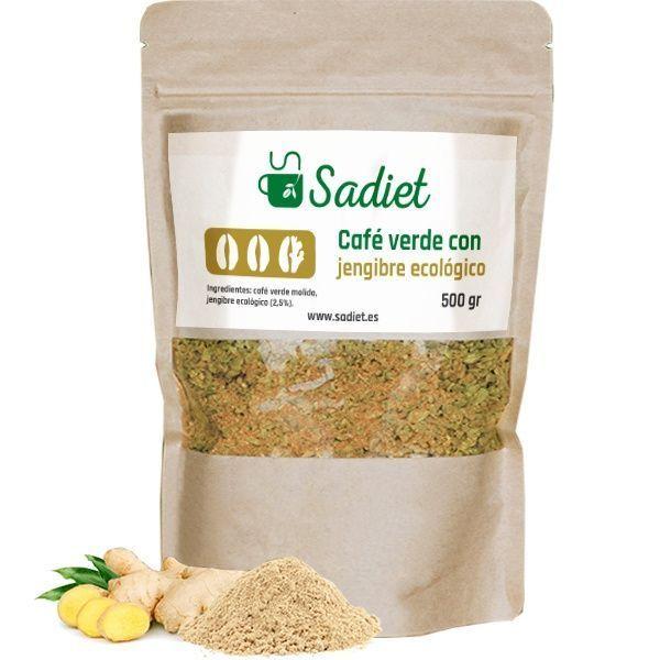 café-verde-con-jengibre-ecológico-500g
